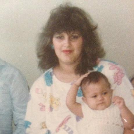Me and Mom. 1987