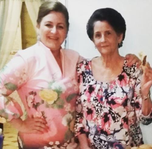 Mom and Grandma. 2016